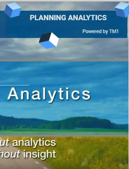 IBM Planning Analytics overview DEMO portrait